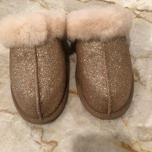 Glitter Ugg Slippers Size 8 Brand New
